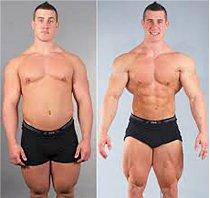 До и после тренировок в тренажерном зале
