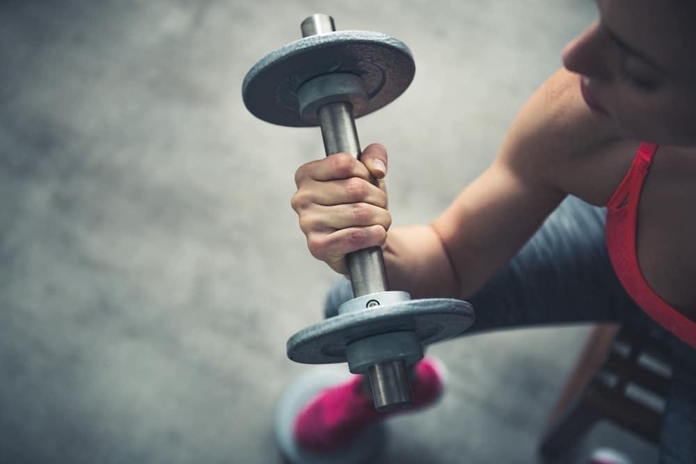 Тренировки на диете