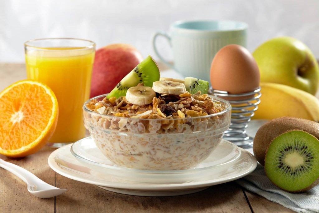 Утренний фитнес-завтрак