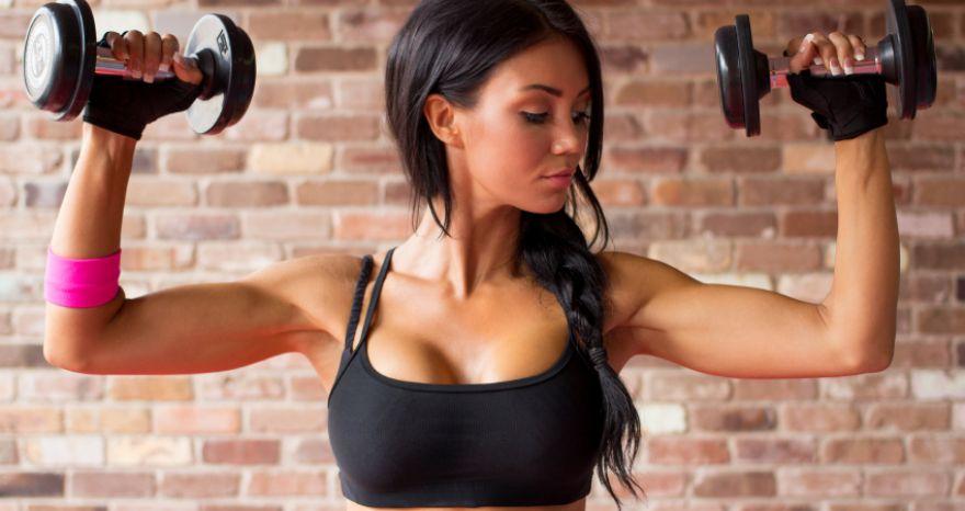 Упражнение для мышц плеч