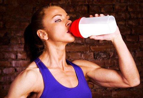 Улеводно-белковая смесь для набора мышечной массы