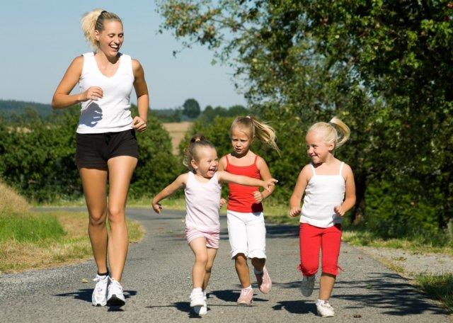 Спортивная ходьба для взрослых и детей