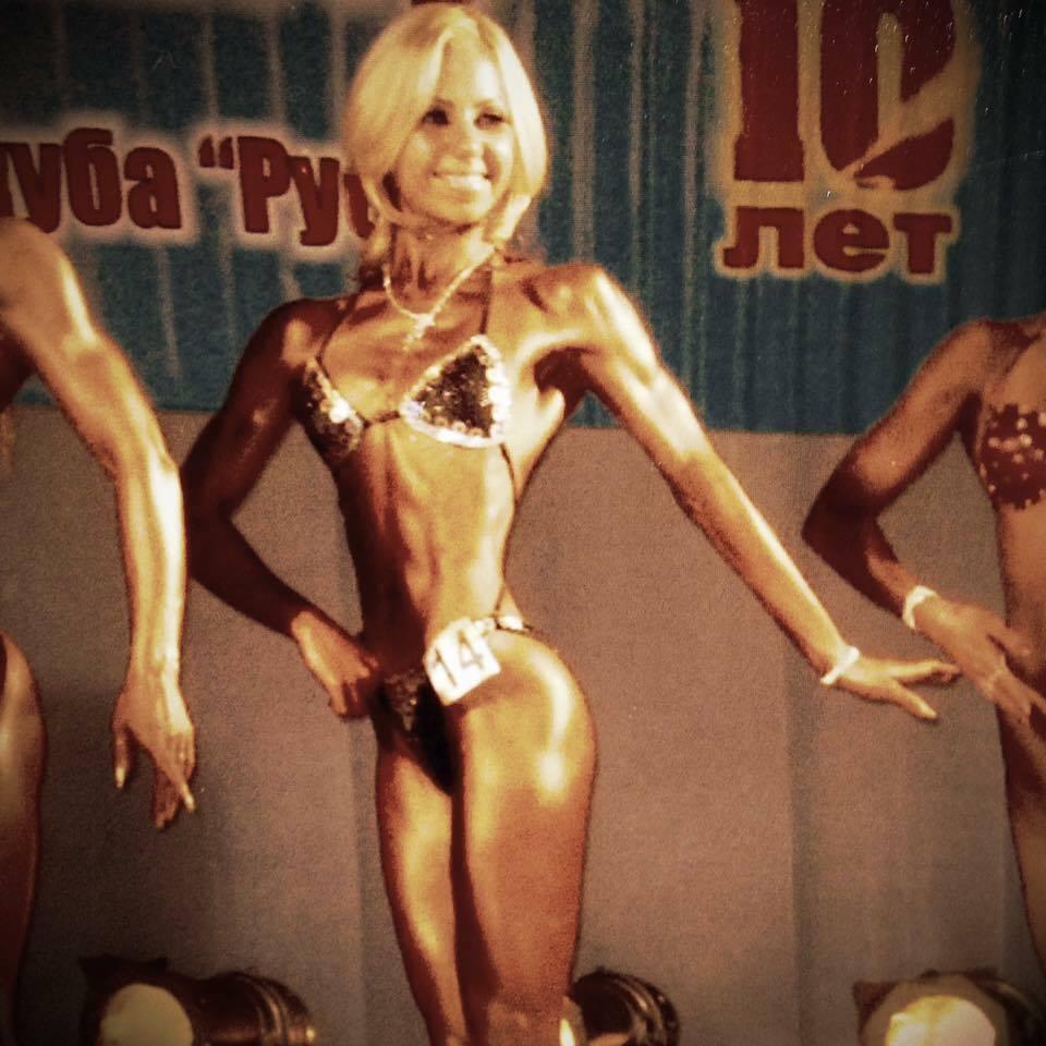 3 место Ольги Планкевич в соревнованиях по фитнесу