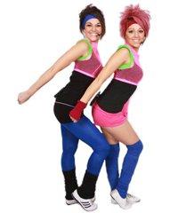 Танцевальная аэробика в фитнес-клубе