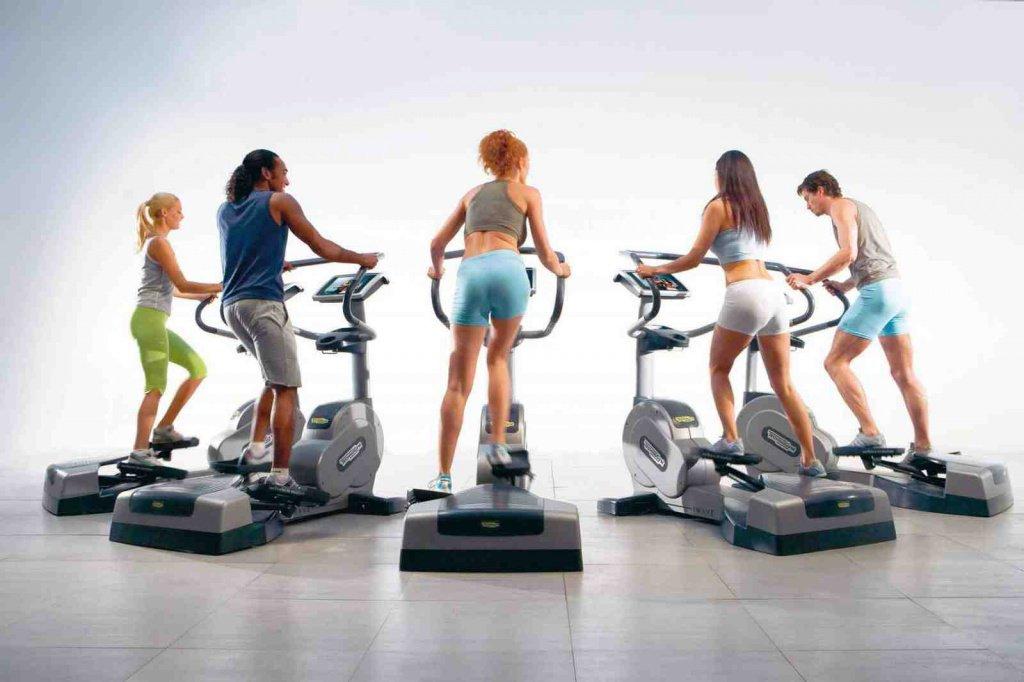 Тренировка на велотренажерах