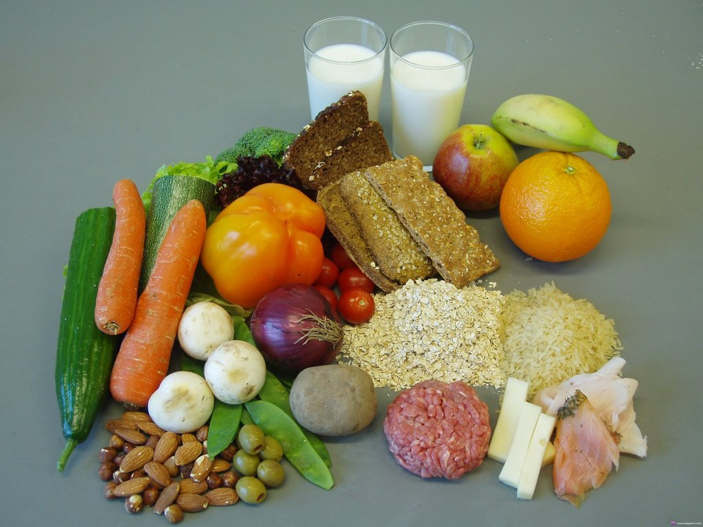 Правильное питание при наборе мышечной массы