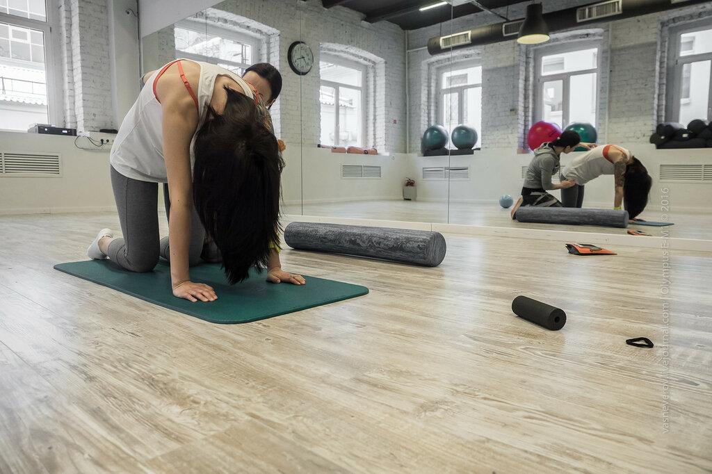 Работа с мышцами спины и позвоночником