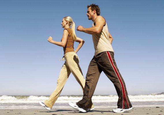 Занятие спортивной ходьбой