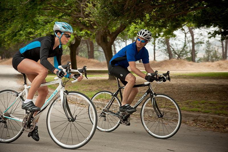 Велотренировка на свежем воздухе