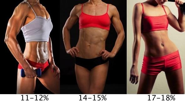 Процент жира в организме по фотографии