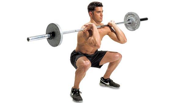 Базовое упражнение со штангой