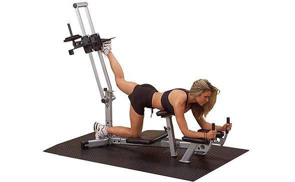 Укрепление мышц бедра в тренажере