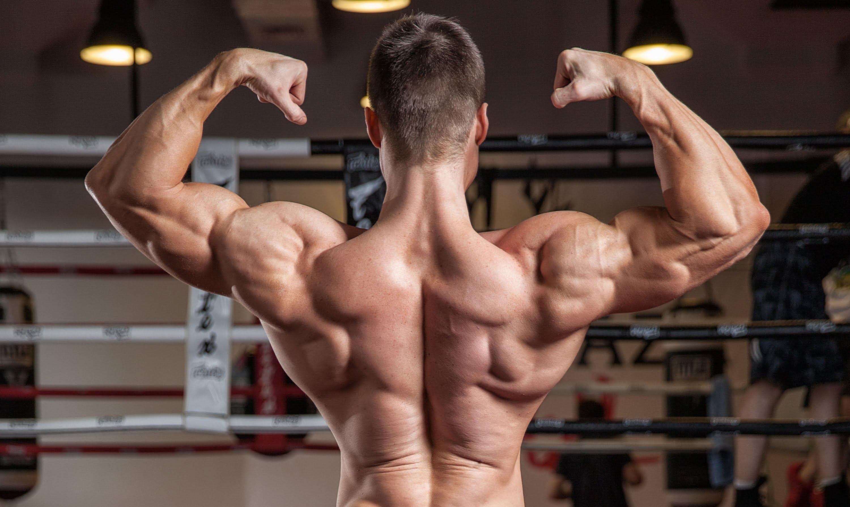 Результат сушки мышц