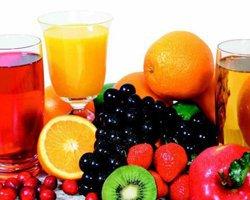 Свежевыжатый сок из фруктов