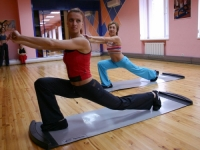 Слайд-аэробика — один из видов аэробики в фитнес-клубе «Манго»
