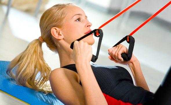 Функциональная тренировка с эспандером