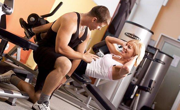 Индивидуальная тренировка с персональным фитнес-тренером